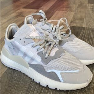 BRAND NEW!! Adidas nite joggers size 10.5